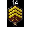 Sergeant 1 Star